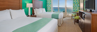 Holiday Inn Resort Fort Walton Beach Double Queen Gulf View