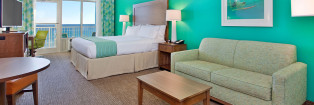 Holiday Inn Resort Fort Walton Beach King Room Gulf View