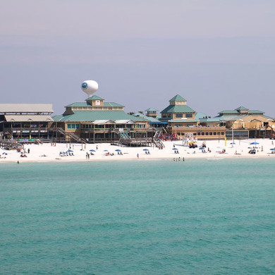 Okaloosa Island Boardwalk Fort Walton Beach Florida